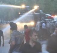 Նոր տեսանյութ. ցուցարարները, ոստիկանները և ջրցանը 23.06.2015